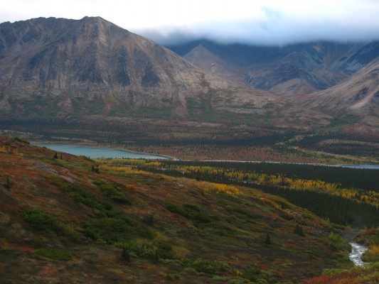 alaska hiking backpacking lake clark national park