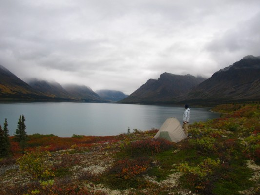 alaska backpacking Lake Clark National Park