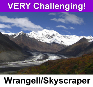 Mt. Wrangell/Skyscraper Traverse