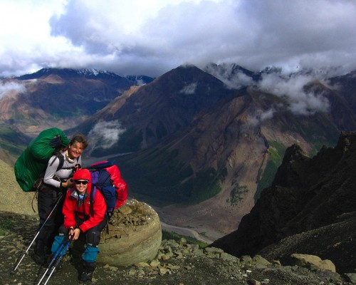 alaska backpacking trips - Skolai Pass wolverine